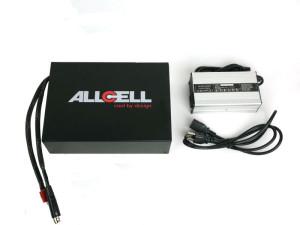 Allcell 48V 23Ah Battery in Rectangular Enclosure