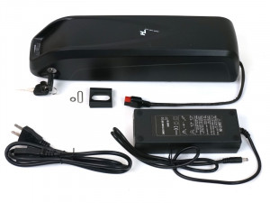 52V 11Ah Downtube Battery and Charger
