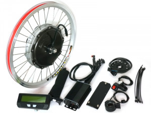 Front Geared Motor Ready-to-Roll Kit for Brompton Bicycles