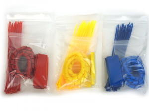 Grin Coloured Tidy Wiring Kits