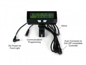 Large Screen Direct Plug-In Cycle Analyst (mounting bracket not included)