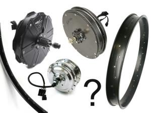 Custom Hub Motor Wheel Build