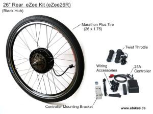 eZee Rear Kit, Basic Throttle with JST connectors