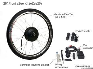 eZee Front Kit, Basic Throttle with JST connectors