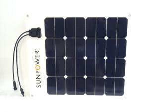 50W Sunpower Flexible Solar Panel