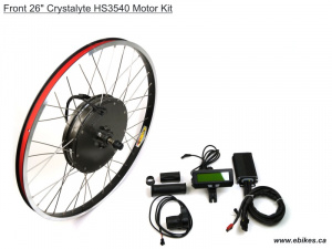 Crystalyte Prelaced Front H Kit, Basic Throttle