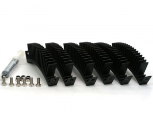 Complete Set of HubSinks with Bolts and Thermal Grease