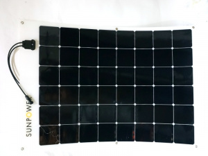 170 Watt Sunpower Flexible Solar Panel, 6 x 8 Cell Grid