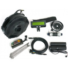 Grin All-Axle Motor Conversion Kit, Black Anodized