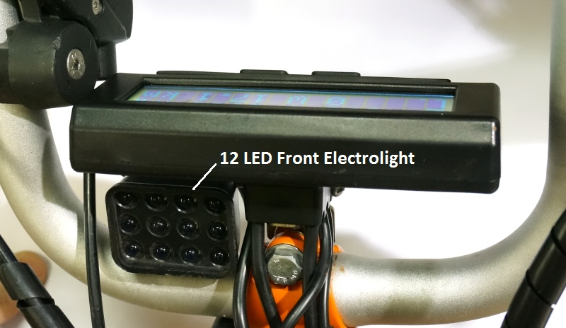 12 LED Electrolight under Cycle Analyst