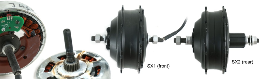 Shengyi Hub Motors with Helical Gears