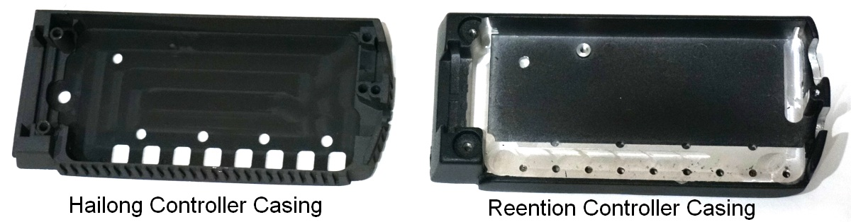 Difference between Hailong and Reention Baseplates