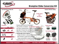 Electric Brompton Conversion Kit Brochure