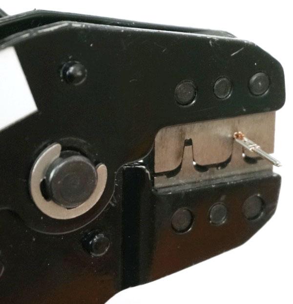 JST Pin Crimping