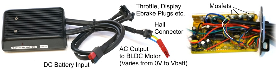 Function and Connectors of an Ebike Motor Controller