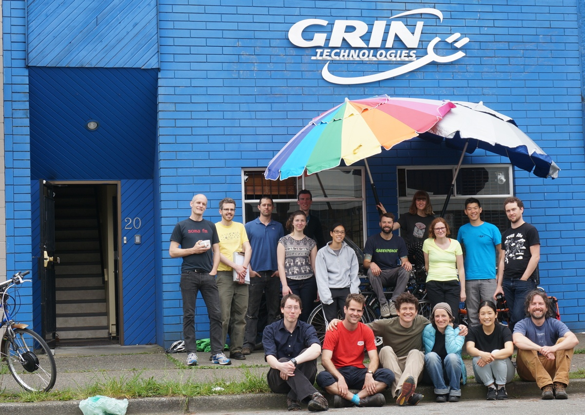 This is the Crew from Grin Tech, Summer 2015
