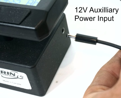 Optional 12V Power Port