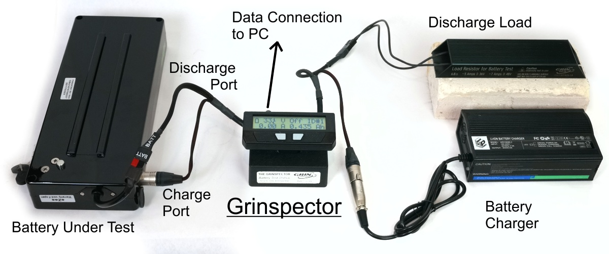 Basic Layout of Grinspector Battery Tester