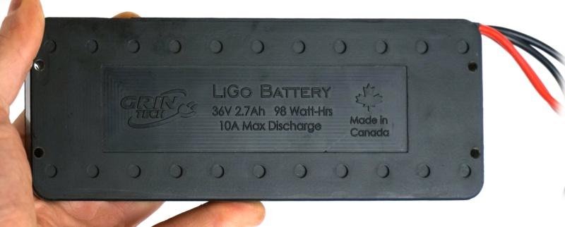 A Stackable LiGo Battery Module In Hand, cute eh?