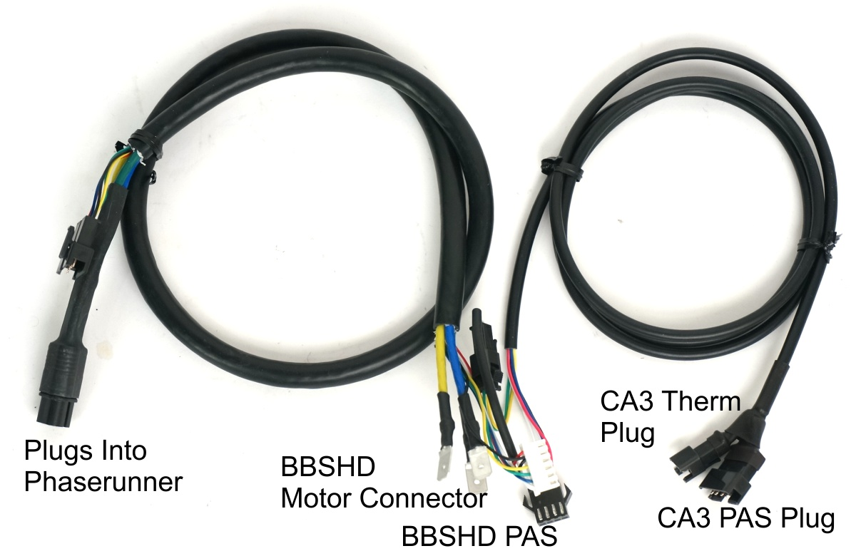 Phaserunner to BBSHD Mid Motor Harness