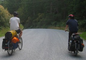 riding road