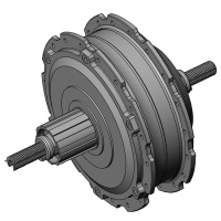 3D CAD file for rear SX2 Hub