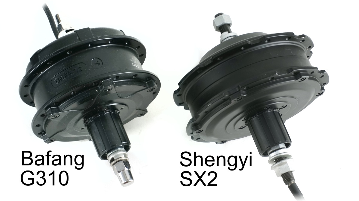 Bafang G310 vs Shengyi SX2