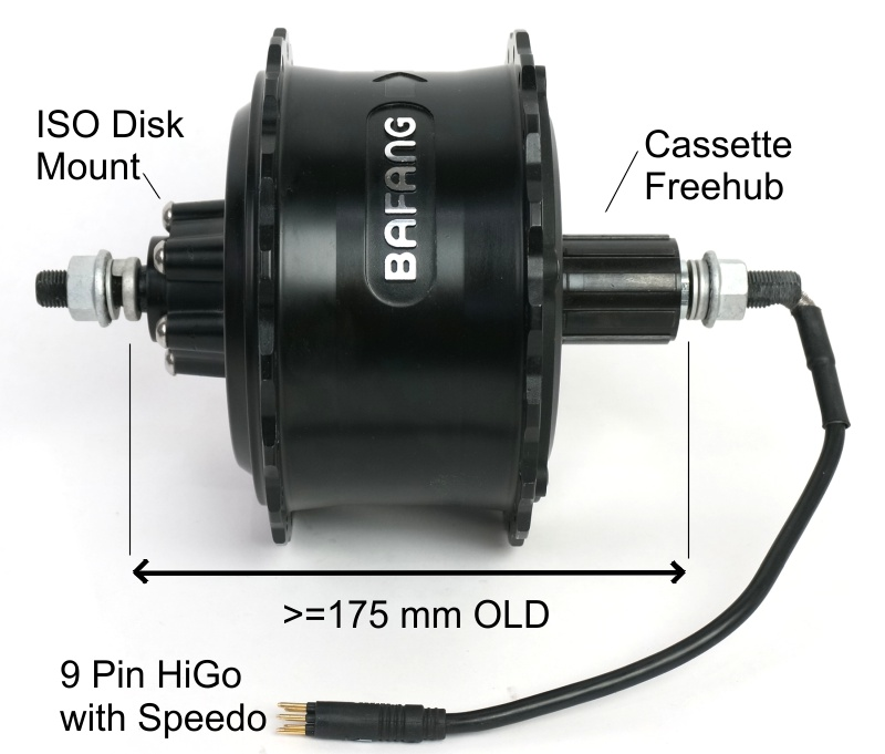 G60 Fatbike Motor Picture