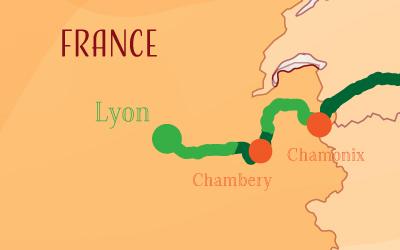 Suntrip through France