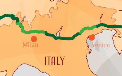 Suntrip through Italy