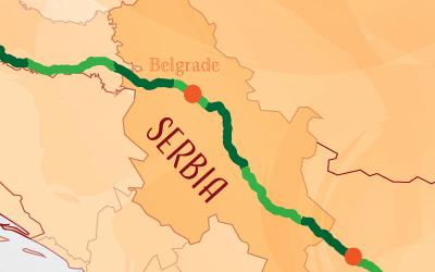 Suntrip through Serbia