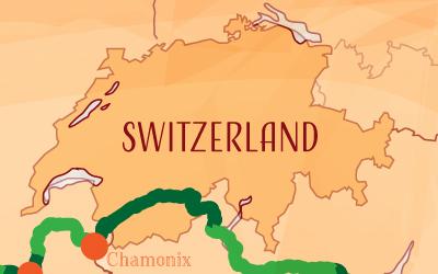 Suntrip through Switzerland
