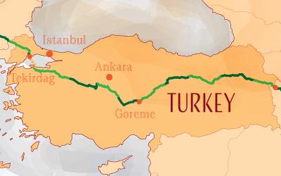 Suntrip through Turkey