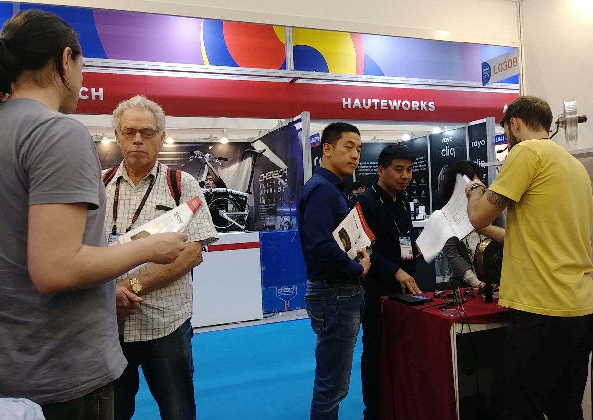 Statorade Motor Demo at Booth