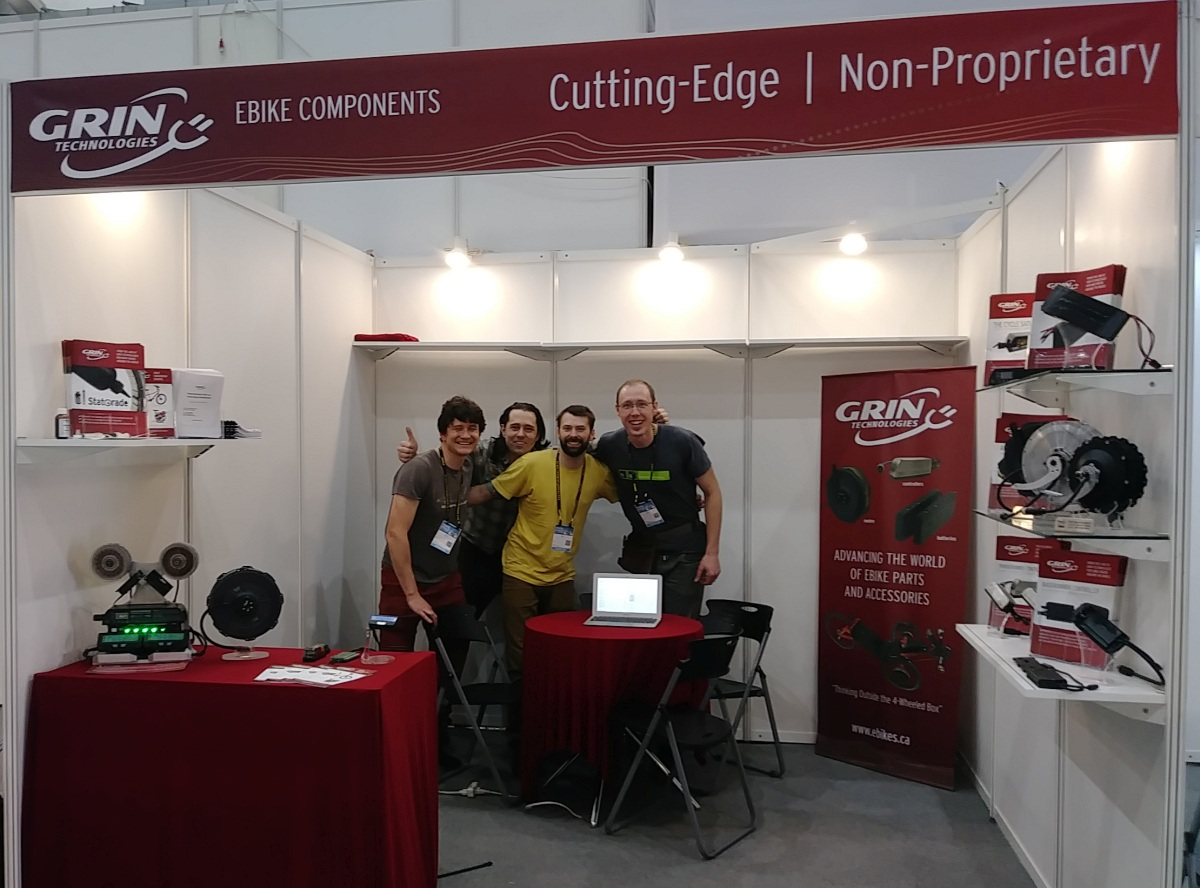 Grin Booth at 2019 Taipei Cycle Show