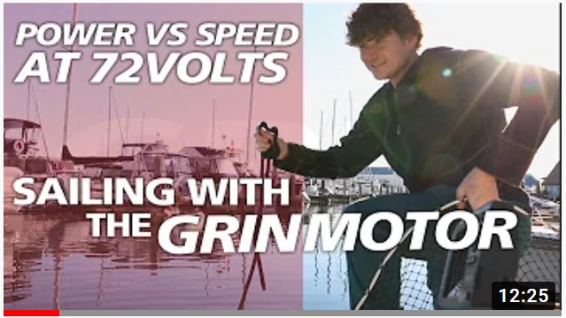 Link to electric sailboat conversion vid part 2