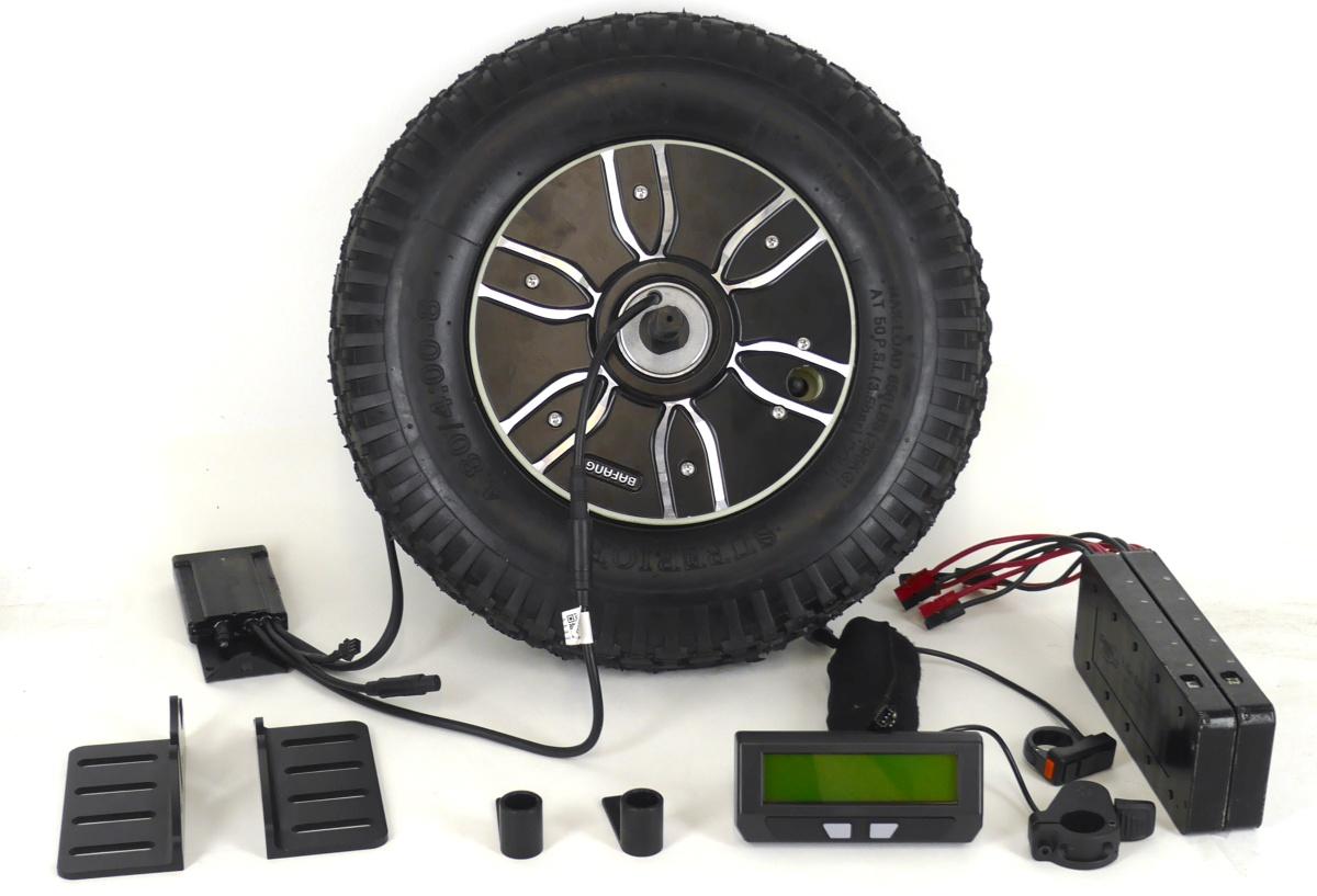 Turn your Wheelbarrow into an e-barrow!