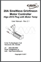 20A Grinfineon Manual with Thermistor Pass-Thru