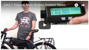 Video showing the ability to view custom parameters on CA display