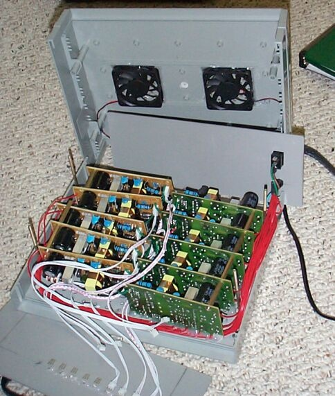 Can you imagine this parallel lithium battery charger the size of a briefcase?