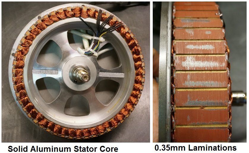 H+ Motor Core Details