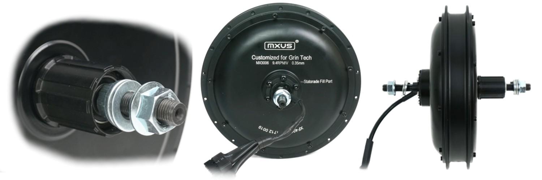 MXUS 300X Rear Cassette Motor