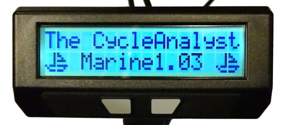 CA Marine Firmware Splash Screen