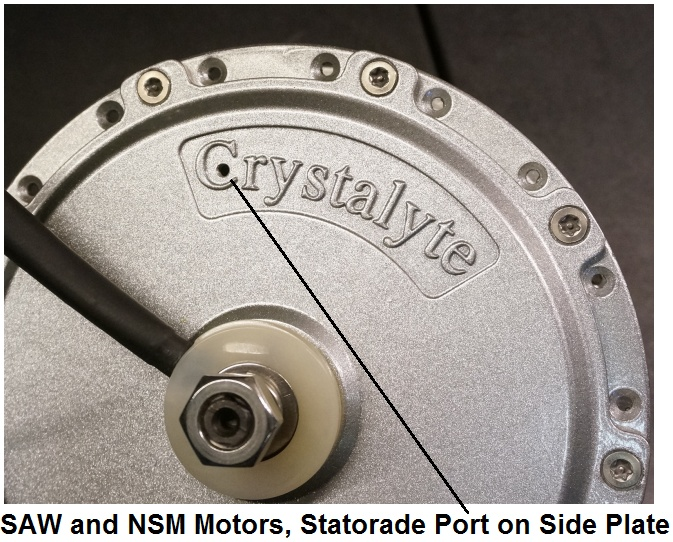 Fill Port on NSM/SAW Motors