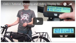 Showing and Hiding Display Screens
