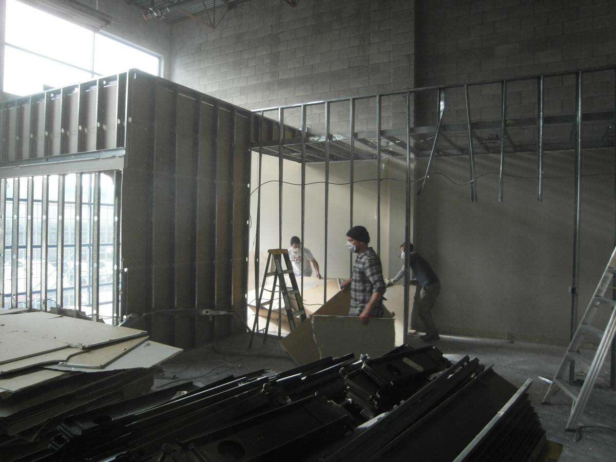 Steel Stud Hallway Takedown