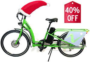 40% on Cargo Bikes